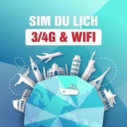 SIM DU LỊCH 3/4G & WIFI